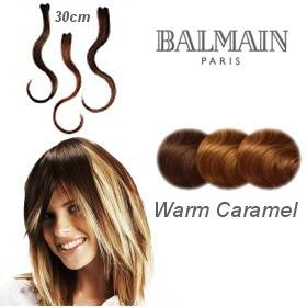Hair Make Up 03pcs Color Accents 30cm- Warm Caramel
