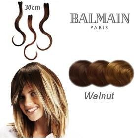 Hair Make Up Color Accents 30cm Walnut- (03 Pcs)