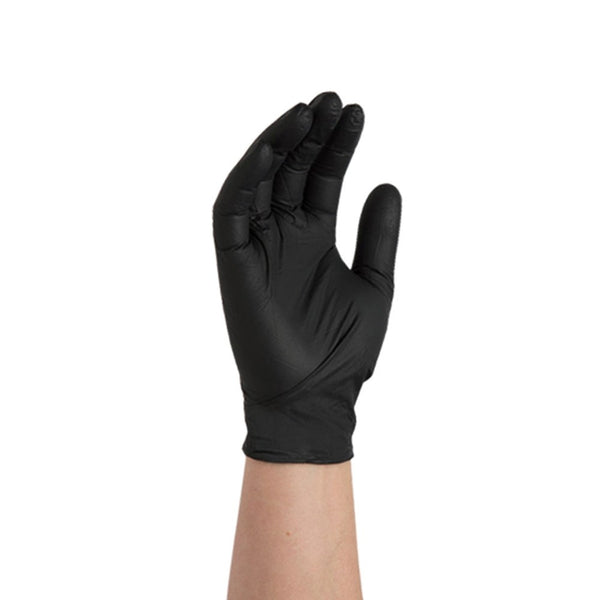 Black Hair Gloves