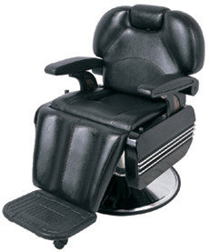 Barber Chair 6101A-Reclining Black