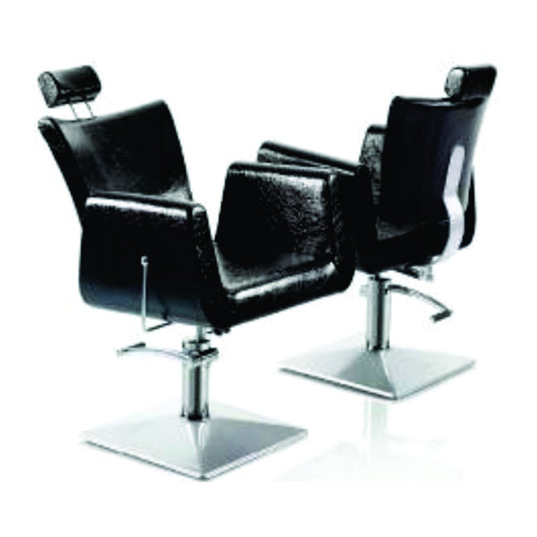 Barber Chair 68168- Reclining Black