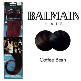 Clip Tape Extension Human Hair 40cm Cofee Bean - 01 Unit