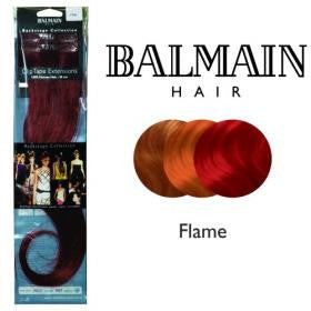 Clip Tape Extension. Human Hair 40cm Flame - 01 Unit