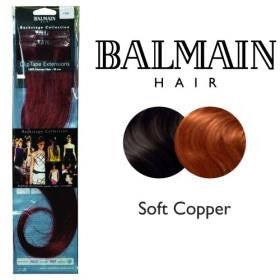 Clip Tape Extension Human Hair 40cm Soft Copper - 01 Unit