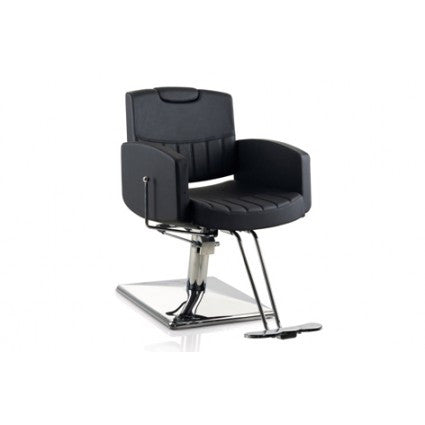 Barber Chair 6212- Reclining Black