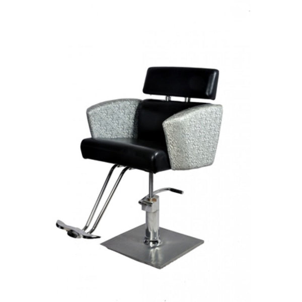 Barber Chair 075 Reclining Black