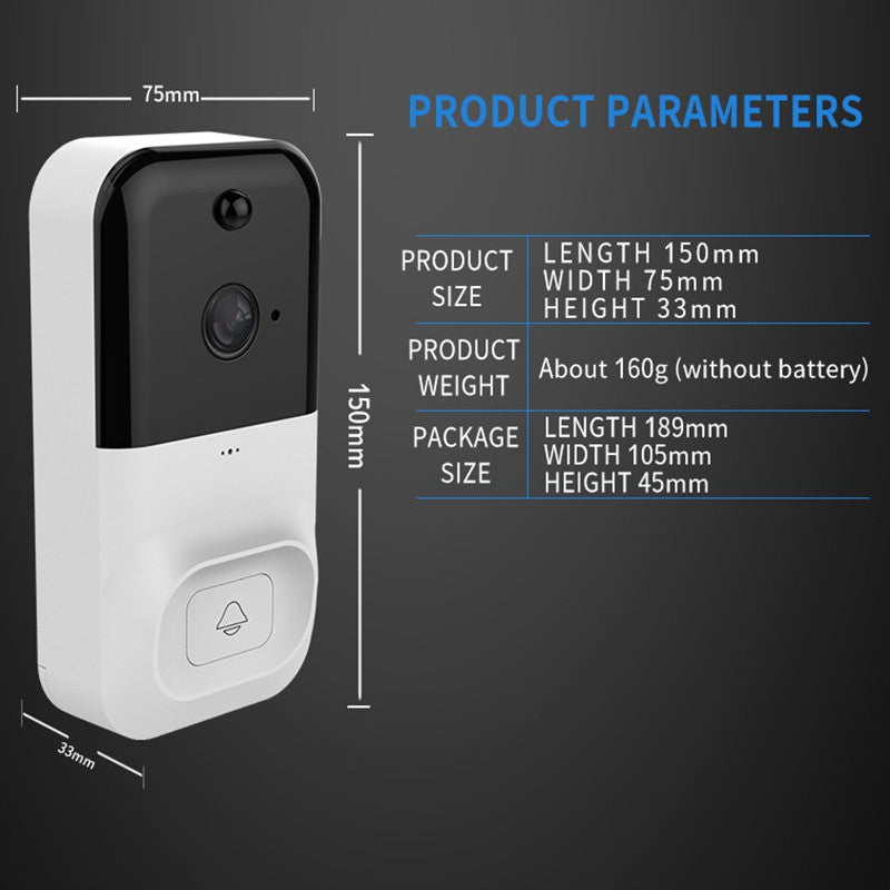 X5 Wireless WiFi Smart DoorBell