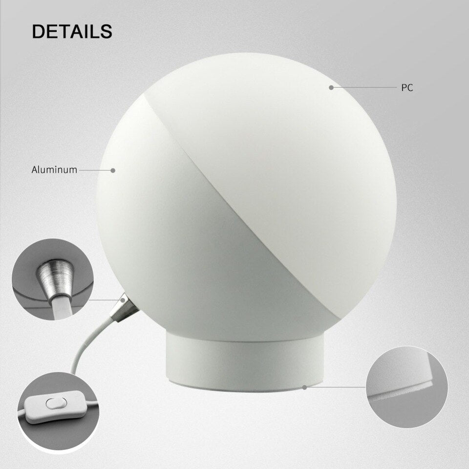 Wifi Smart Table Lamp RGBW 7W Dimmable Control