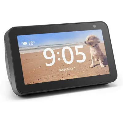 Echo Show 5 – Compact smart display with Alexa (charcoal)