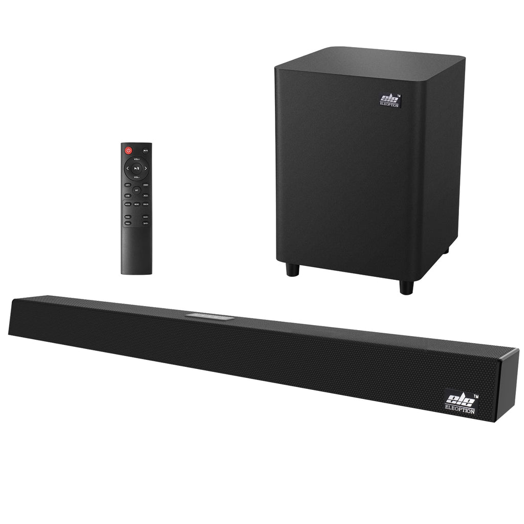 120W Home Theater Sound System Soundbar 2.1