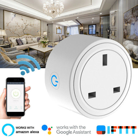 1/2/4PC Smart Plug Wifi Smart Socket  - UK Plug