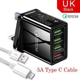 48W Quick Charger 3.0 USB Charger