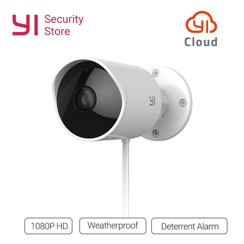 YI Outdoor Waterproof Security Camera