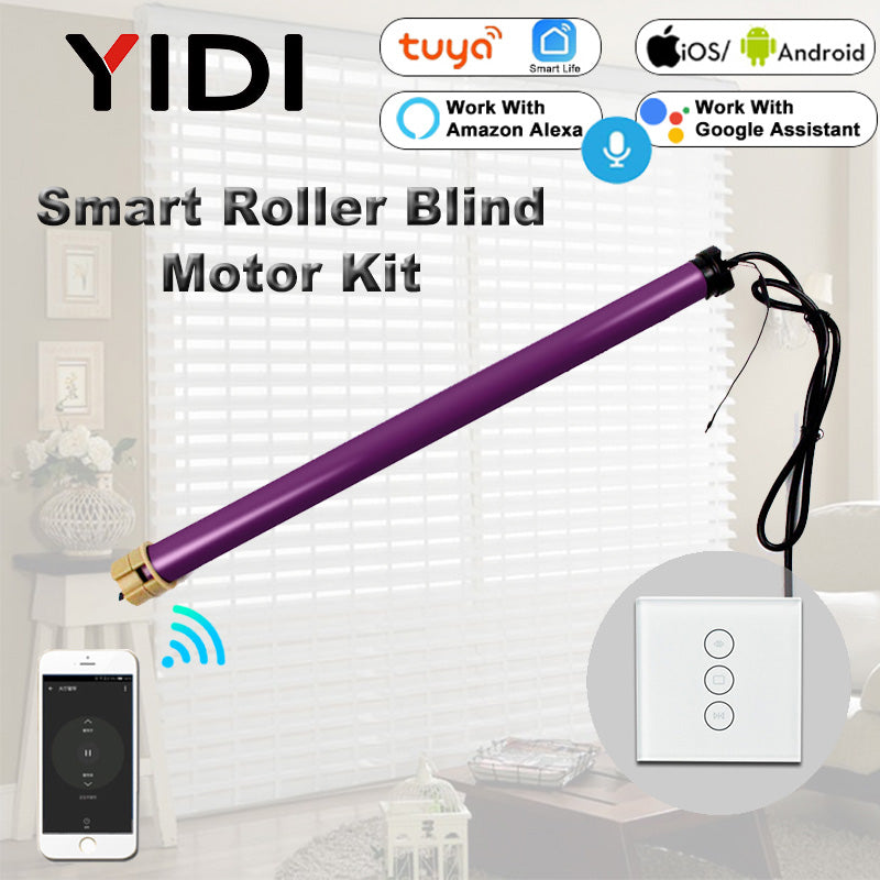 Smart Rolling Blinds Motor Kit w/ Switch