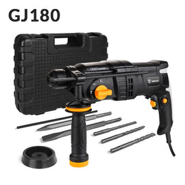 DEKO 220V 4 Functions AC Electric Rotary Hammer Drill