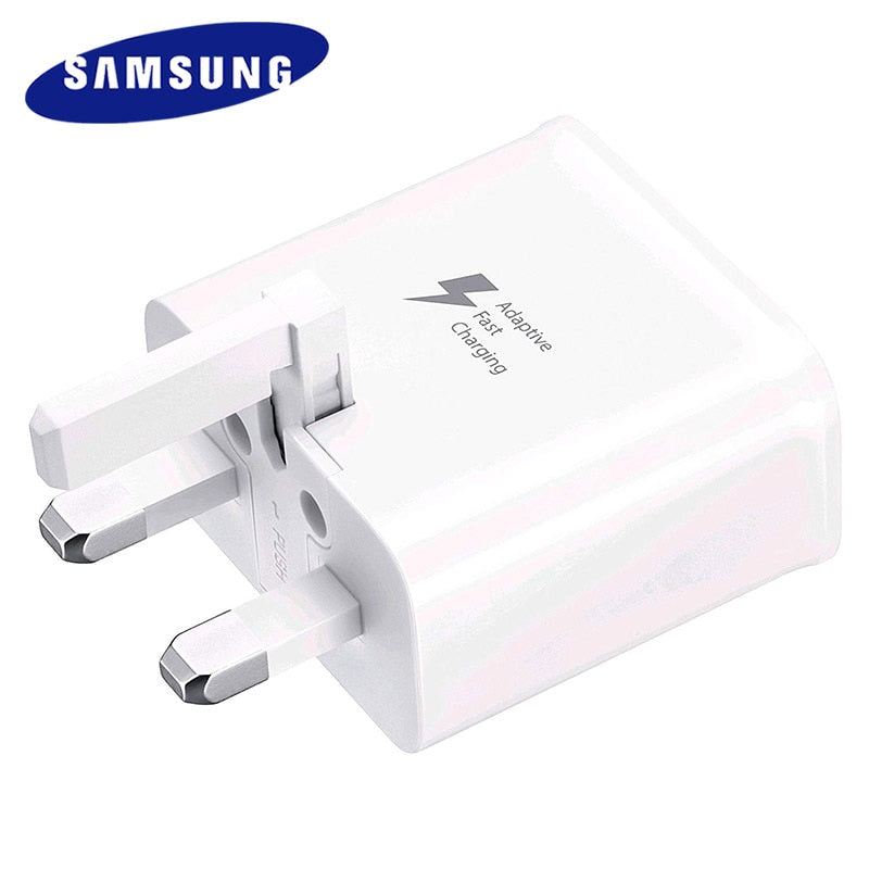 Samsung UK Plug Fast Charger Travel Adapter