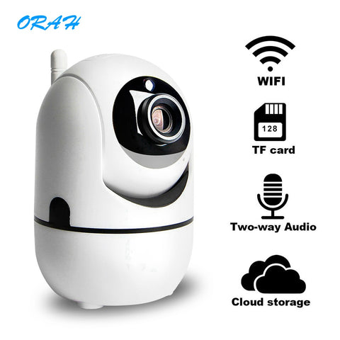 Cute Wifi Auto Tracking Human Cloud Camera 1080P