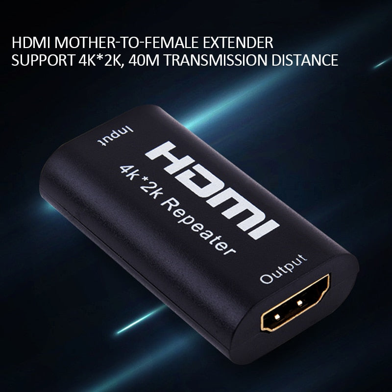 HDMI Adapter Signal Amplifier Booster