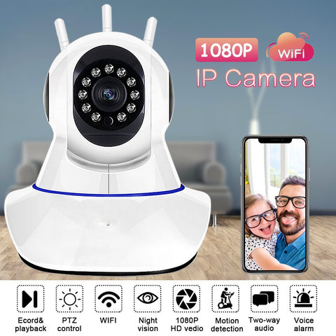 HD 1080P IP Camera For Home Security Wireless CCTV