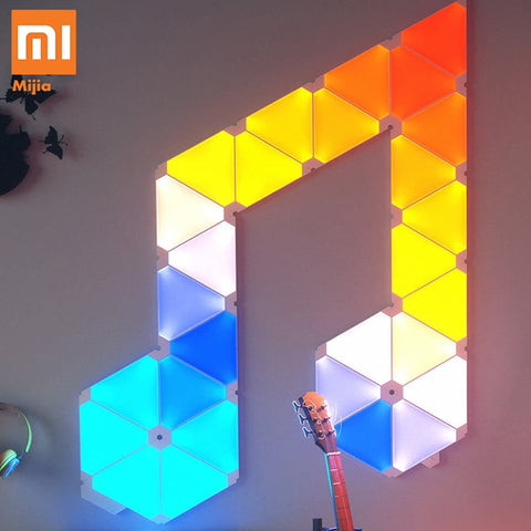 Original Xiaomi Nanoleaf  4pcs/1box