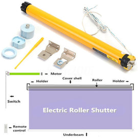 Electric Curtains Roller Motor 24V DC 300mA 7.2W 30RPM DIY Kit