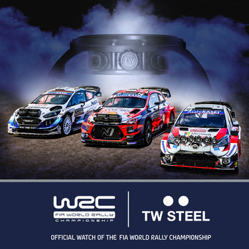 Official Watch Partner of the WRC