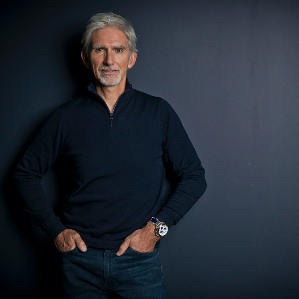 NEW PARTNERSHIP: DAMON HILL