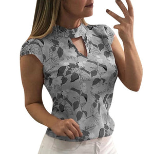 Women's T Shirt Printing Cap Sleeve Tops Summer Casual