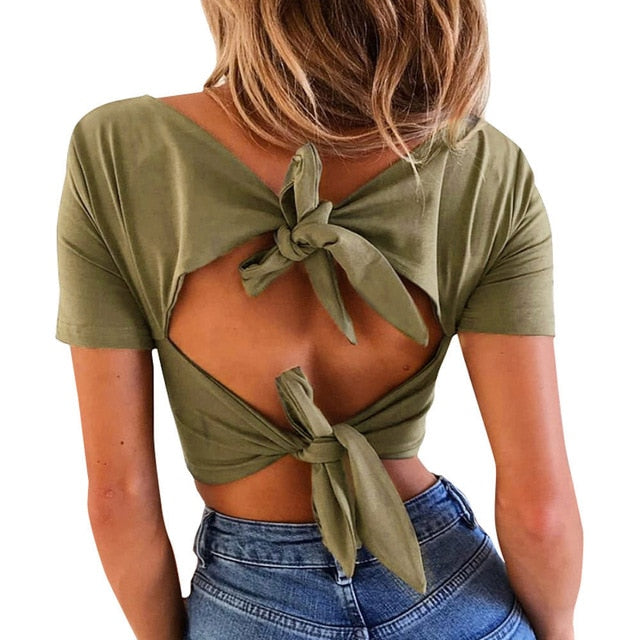 Spring Fashion Women's Shirt Solid Long Sleeve Square-Neck