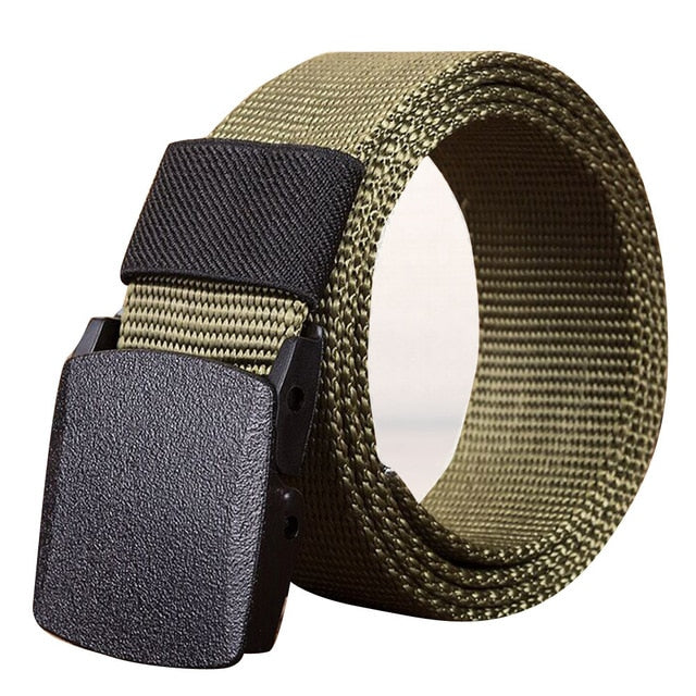 Unisex Military Canvas Belt Military Men's Outdoor