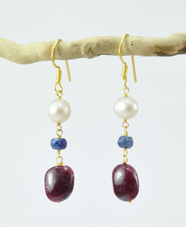 Sovrano gemstones earrings