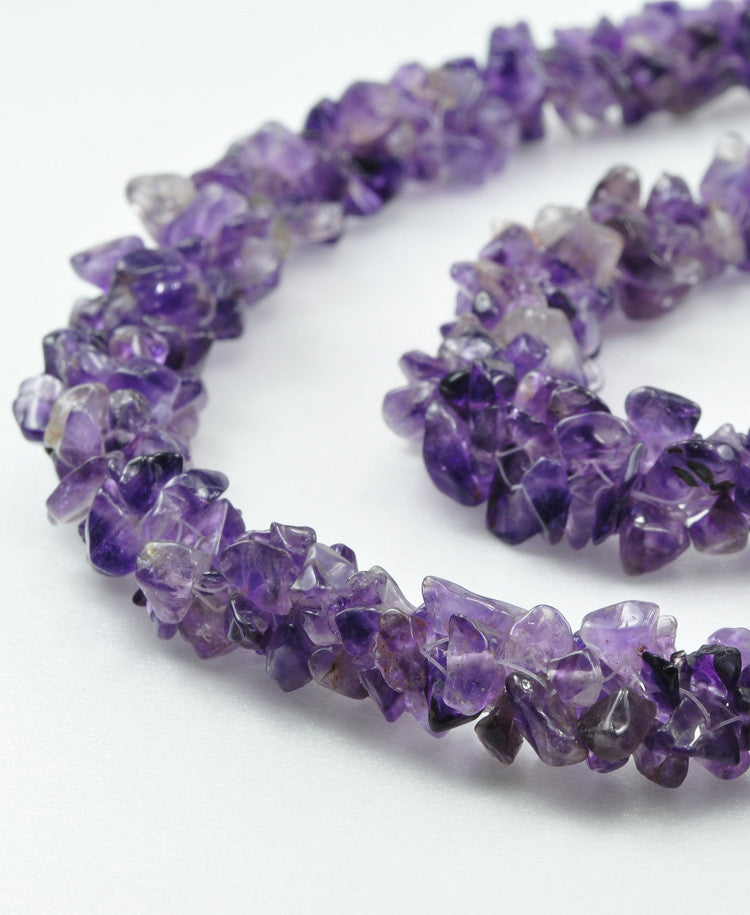 Chipped amethyst Necklace