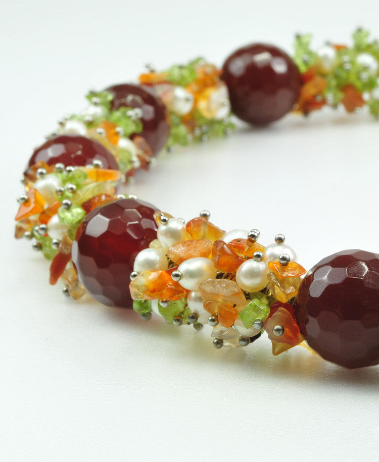Passione Gemstones Necklace