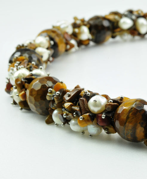 Passione Tiger's eye Necklace