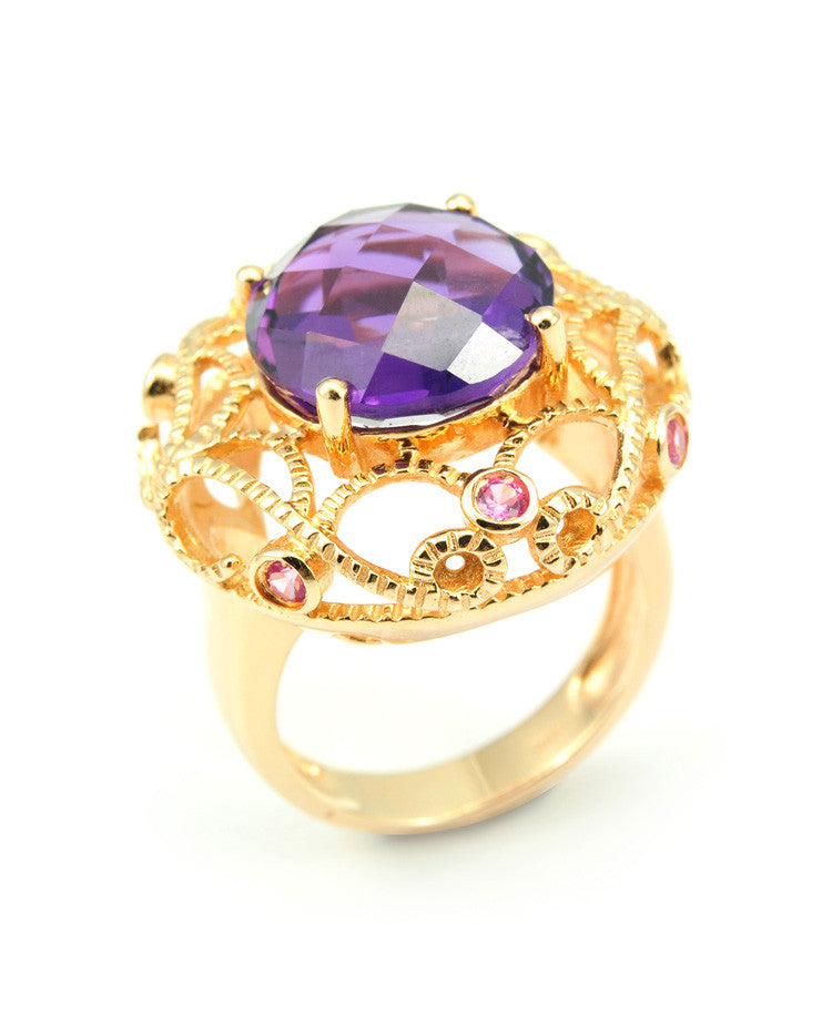 Monsa Amethyst Ring