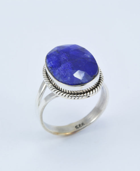 Antique Oval Sapphire Ring XI