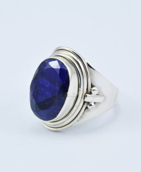 Antique Oval Sapphire Ring XII