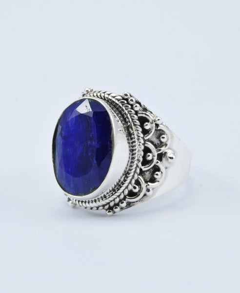Antique Oval Sapphire Ring XIII