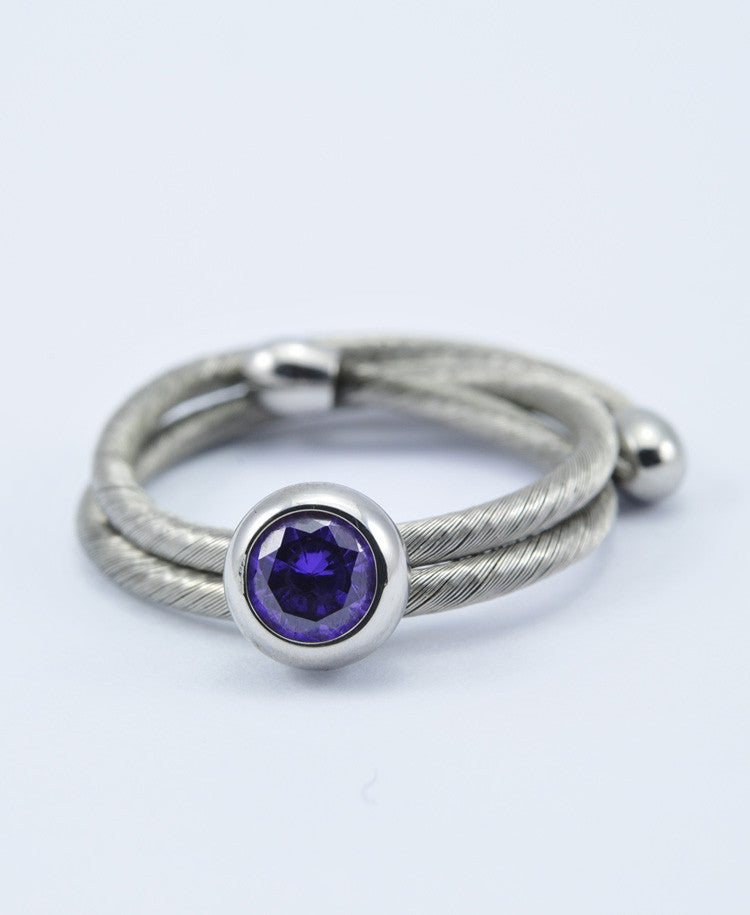 Crown Elastic Ring