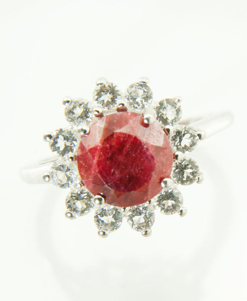 Ruby star ring