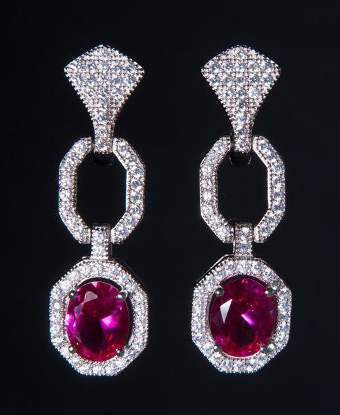 Rubino earrings