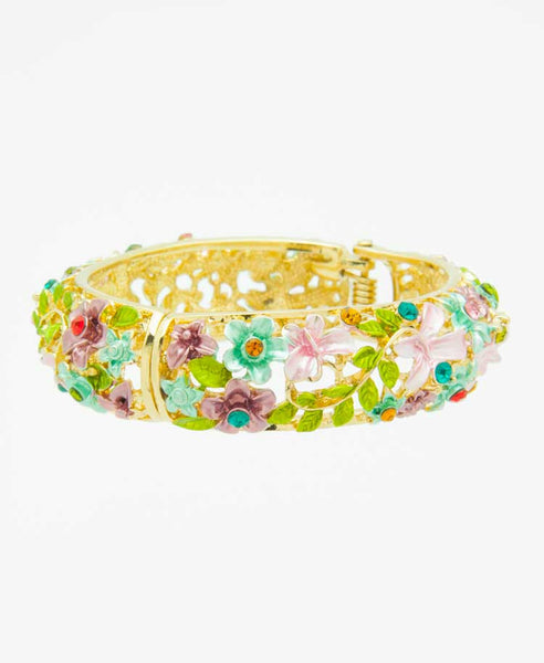 Summer forest bangle