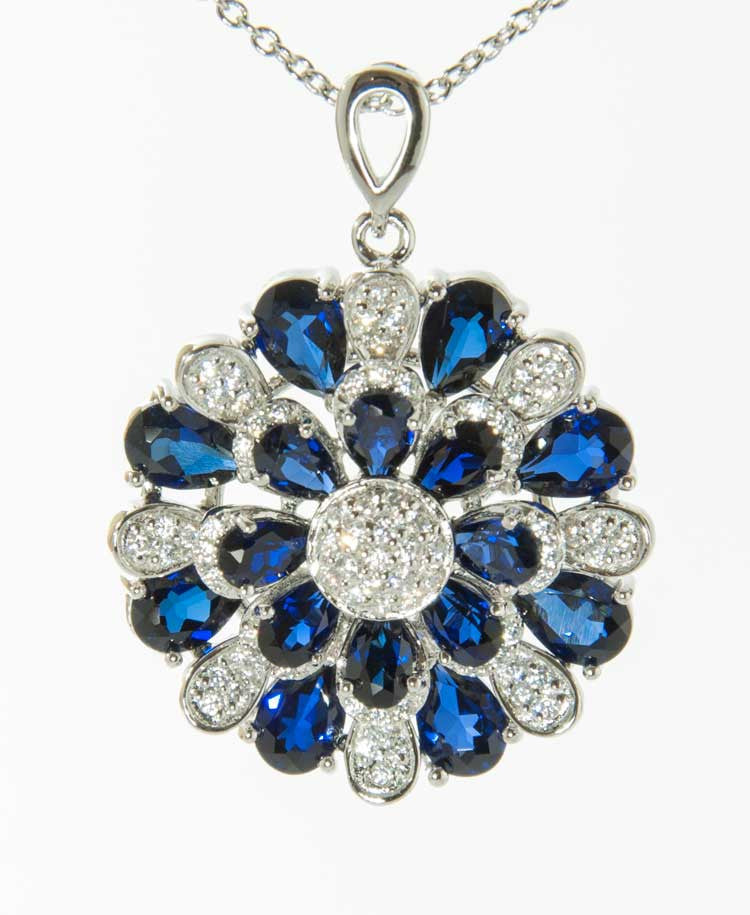 Donate Blue pendant
