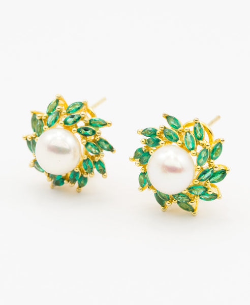 Nizam pearl earrings