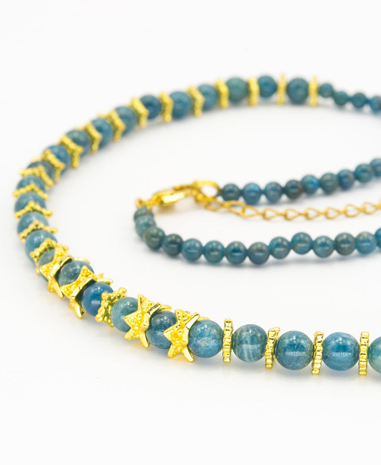 Tyrian Apalite necklace