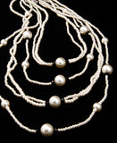 Pearl oriental necklace