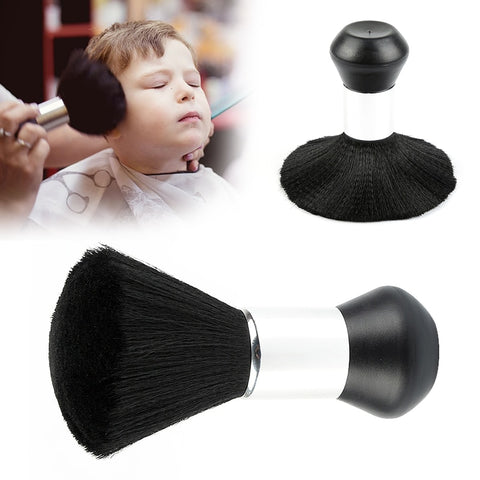 1PC Black Soft Neck Brush Face Duster