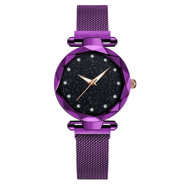 Magnetic Starry Sky Clock Watch