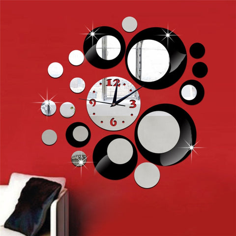 Creative Home Living Room Background Mirror Wall Sticker