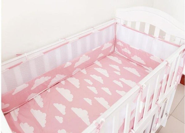 2pcs*120cm Cotton Baby Bumper